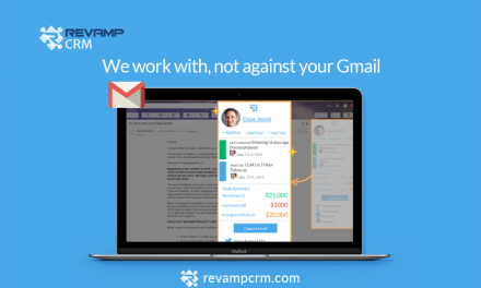 Connect your Gmail with Revamp CRM