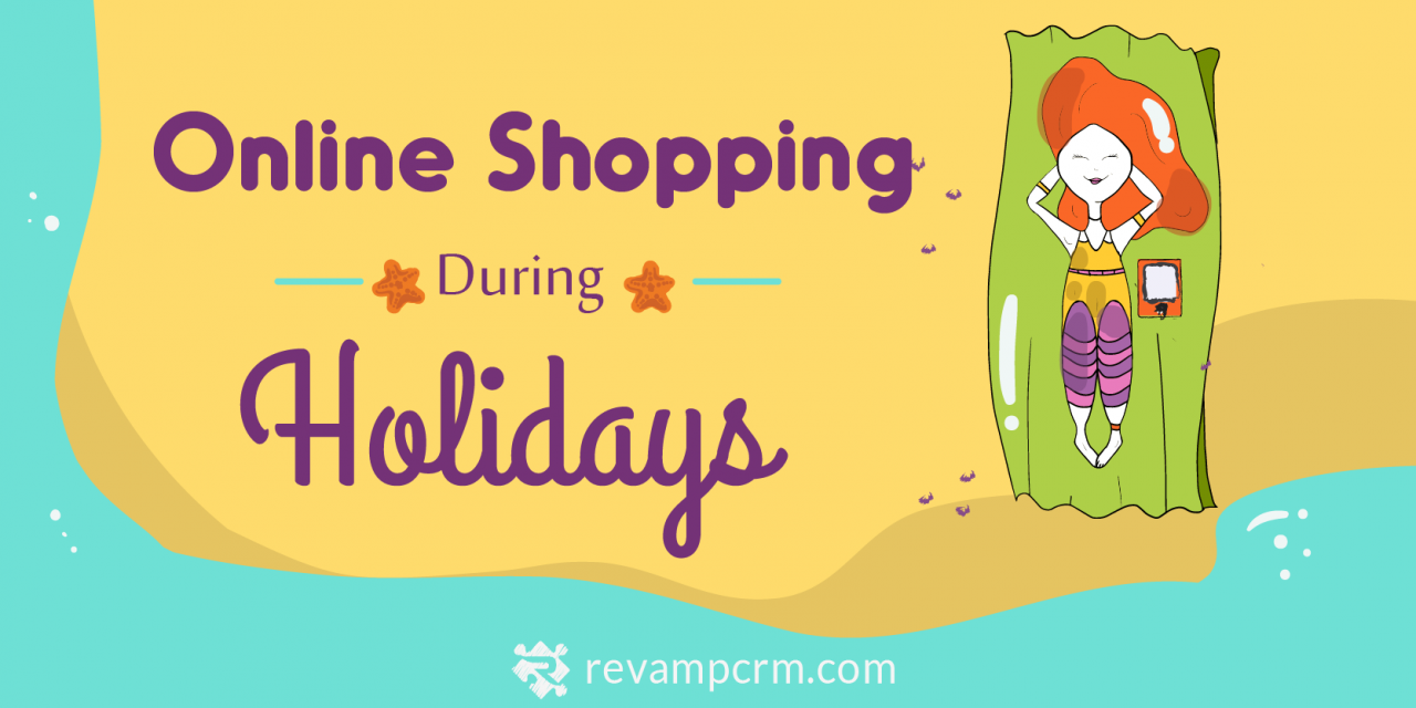 Online Shopping During Holidays [ Infographic ]