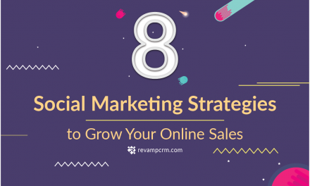 Grow Your Online Sales With These 8 Social Marketing Strategies [ Infographic ]