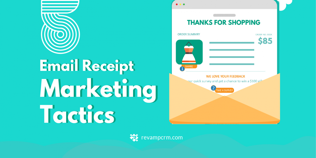 5 Email Receipt Marketing Tactics [ Infographic ]