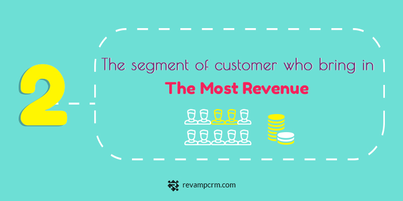 2 The 5 Key Insights About Your Customers You Should Be Studying The segment of customer who bring in the most revenue