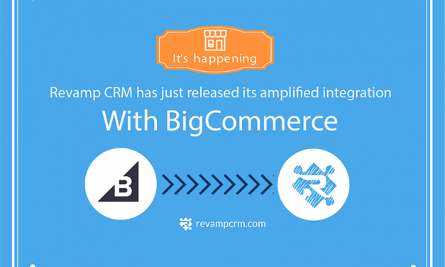 Announcing Revamp CRM deep integration with BigCommerce