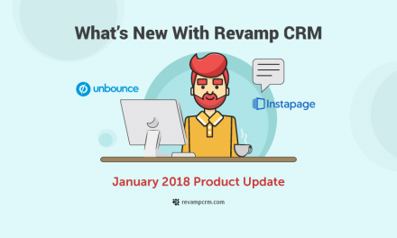What's New With Revamp CRM – January 2018 Product Update