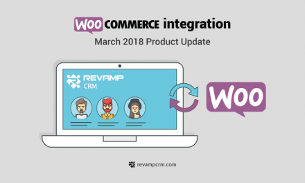 WooCommerce integration– March 2018 Product Update